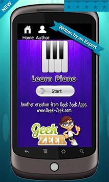 Poster Learn to Play Piano