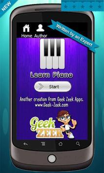 Learn to Play Piano الملصق