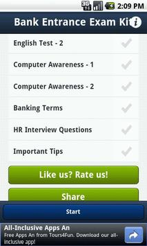 Bank PO Exam/Interview Kit screenshot 1