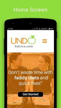 UNDO advice poster