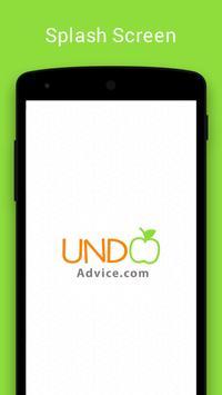 UNDO advice apk screenshot