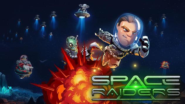 Space Raiders RPG poster