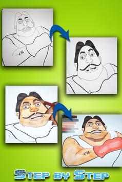 how to draw Mötu Pätlu apk screenshot