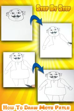 How to draw Mötü Pätlü Easy apk screenshot