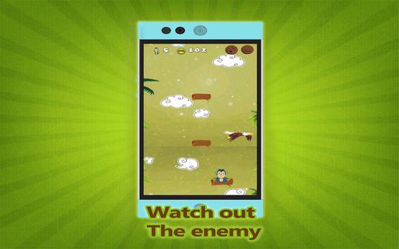 Flying monkey jump Adventure screenshot 9