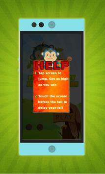 Flying monkey jump Adventure screenshot 1