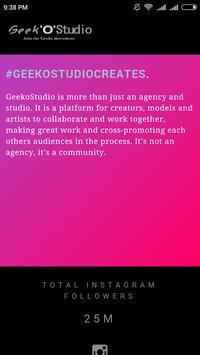 Geekostudio poster