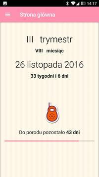 Mój Kalendarz Ciąży poster