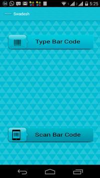 Swadesh (Scan Bar Code) poster