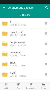FTP Client plugin for FE apk screenshot