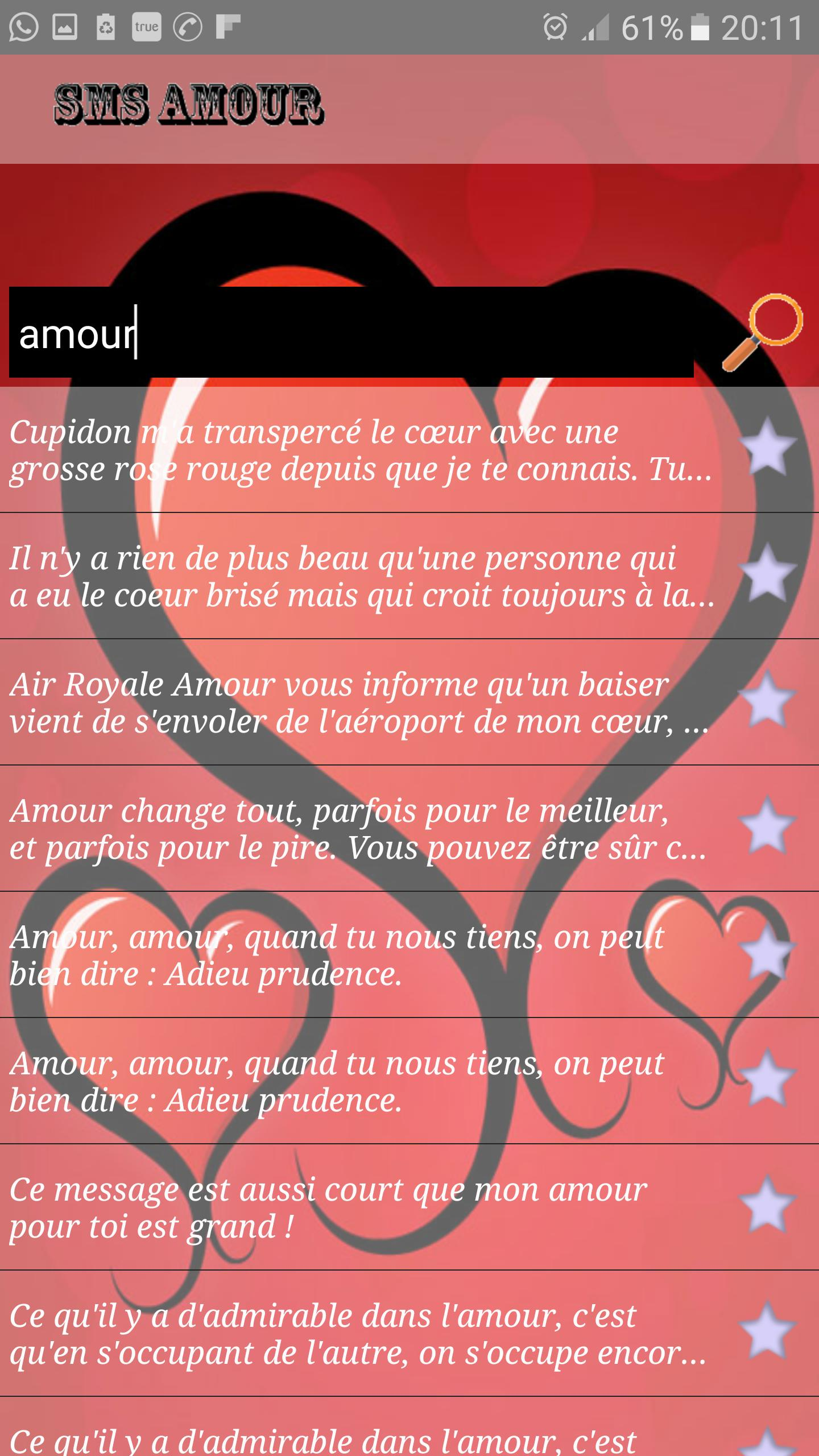 15 000 Messages Sms Damour For Android Apk Download