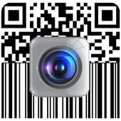 Escáner de código de barras QR icono