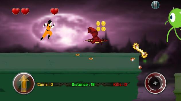 Fight Super Saiyan DBZ 🌎 🔥 apk screenshot