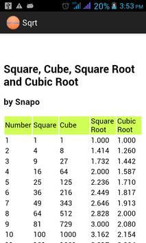 Simple Math Tables Multiply apk screenshot