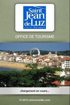 Office tourisme St Jean de Luz poster