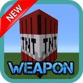 Weapon MODS For MCPE. icon