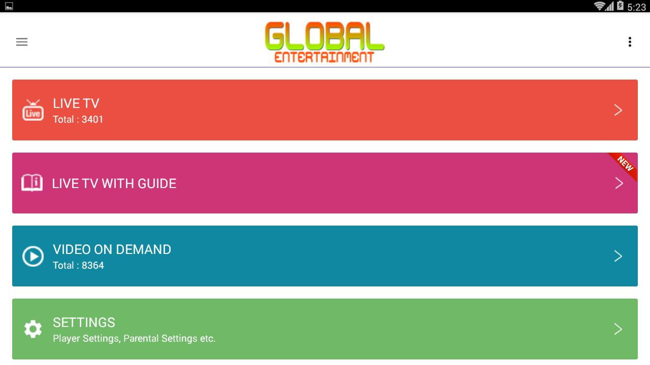 Global Entertainment V2 for Android - APK Download