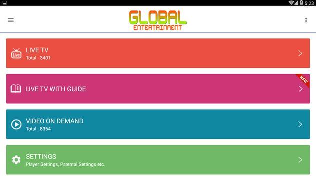 Global Entertainment V2 screenshot 3