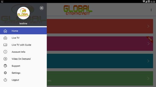 Global Entertainment V2 screenshot 1