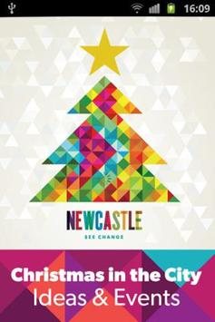 Christmas in Newcastle Now poster