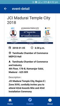 JCI Madurai Temple City screenshot 4