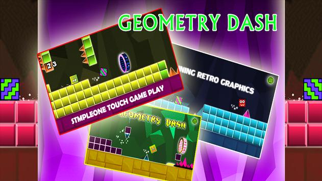 Geometry fire Dash  :melty-down poster