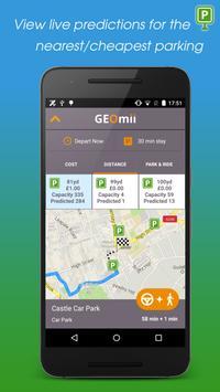 GEOmii Parking screenshot 1