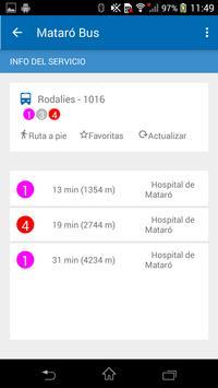 App Mataró Bus screenshot 3