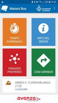 App Mataró Bus poster