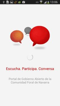 Gob. Navarra-Escucha activa poster