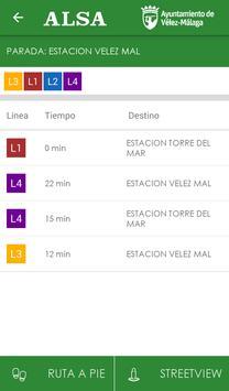 Autobuses Vélez-Málaga screenshot 1