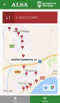 Autobuses Vélez-Málaga screenshot 2