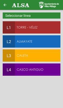 Autobuses Vélez-Málaga screenshot 4