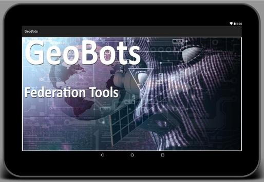 GeoBots Federation Tools apk screenshot