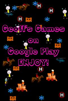 Geoff's Games download my apps poster