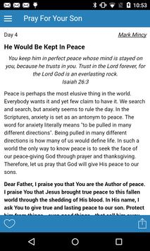 Pray For Your Son: 31 Day poster