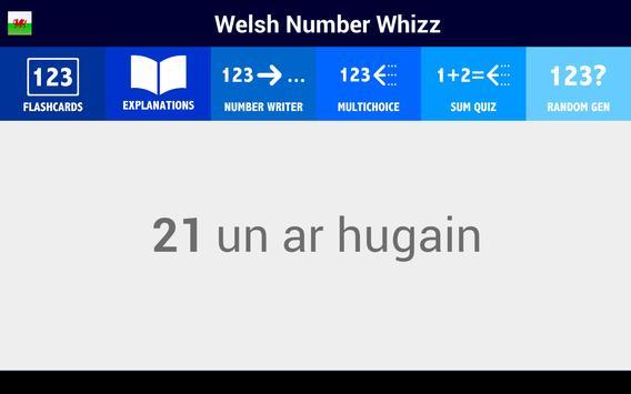 Welsh Number Whizz screenshot 6
