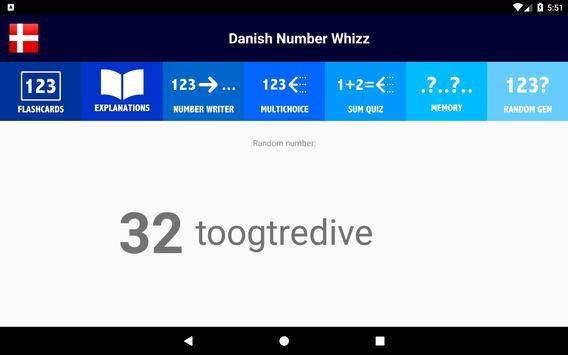 Danish Number Whizz screenshot 15