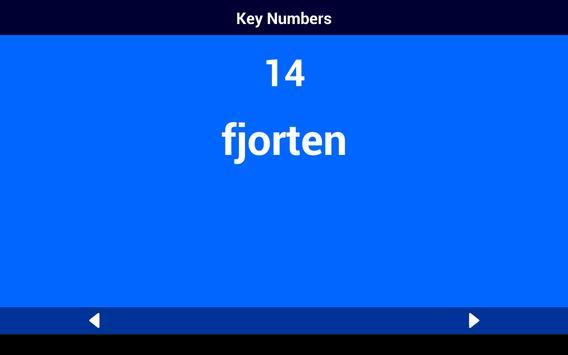 Danish Number Whizz screenshot 7