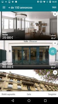 L'Adresse - Réseau immobilier apk screenshot