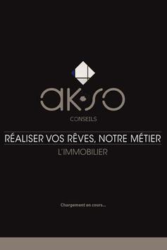 AKSO Conseils Immobilier poster