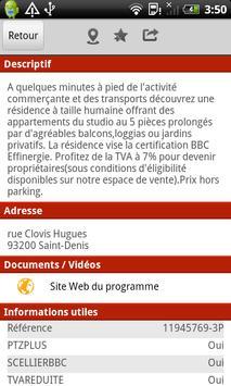 Geoimmo Neuf et Investissement apk screenshot