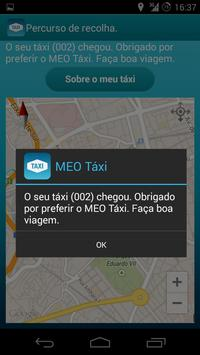 MEO Táxi apk screenshot