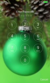 Christmas Balls Lock Screen screenshot 5