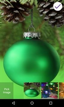 Christmas Balls Lock Screen poster