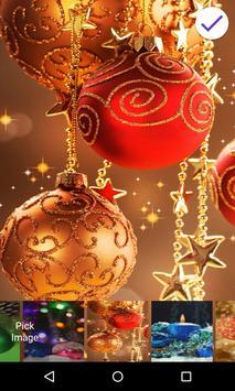 Christmas Balls Lock Screen screenshot 2