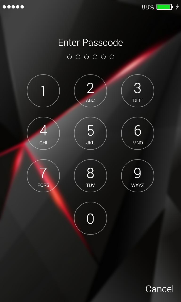 Black Lock Screen Wallpaper For Android Apk Download