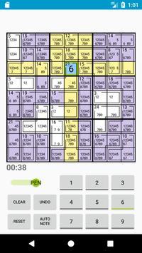 Killer Sudoku apk screenshot