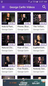 George Carlin Videos screenshot 1