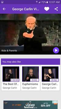 George Carlin Videos screenshot 2